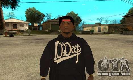 Groove Skin for GTA San Andreas