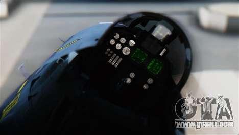F-14J Super Tomcat JASDF for GTA San Andreas back view