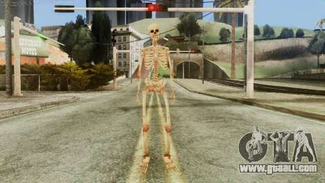 Skeleton Skin v1 for GTA San Andreas second screenshot