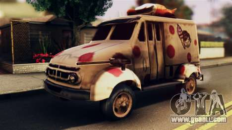 Sweet Tooth Car for GTA San Andreas