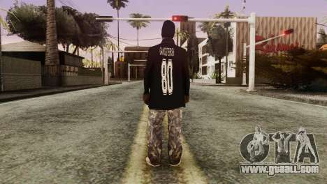 New Ballas Skin for GTA San Andreas third screenshot