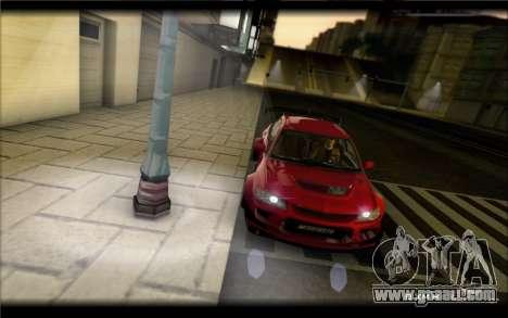 Mitsubishi Lancer Evolution IX Street Edition for GTA San Andreas left view