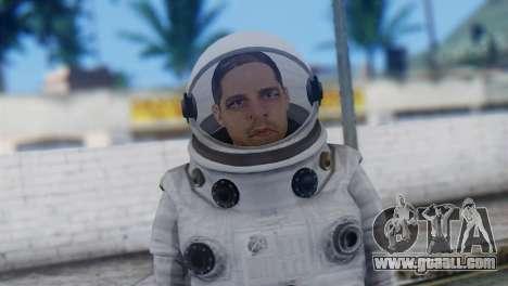 Astronaut Skin from GTA 5 for GTA San Andreas third screenshot
