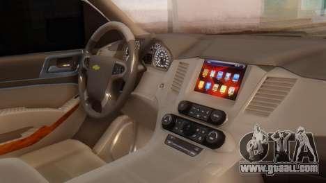 Chevrolet Suburban 2015 for GTA San Andreas right view