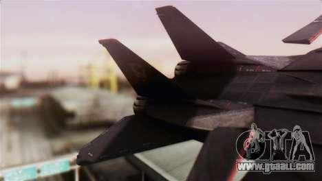Grumman F-14D Super Tomcat for GTA San Andreas back left view