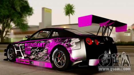 Nissan GT-R (R35) GT3 2012 PJ4 for GTA San Andreas right view