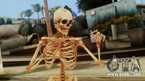 Skeleton Skin v1 for GTA San Andreas