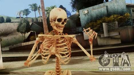 Skeleton Skin v1 for GTA San Andreas