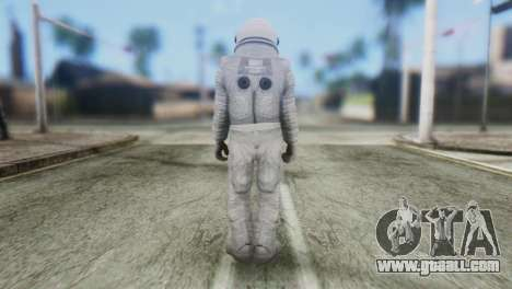 Astronaut Skin from GTA 5 for GTA San Andreas second screenshot