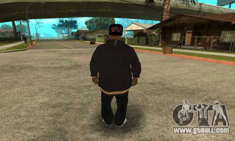 Groove Skin for GTA San Andreas third screenshot