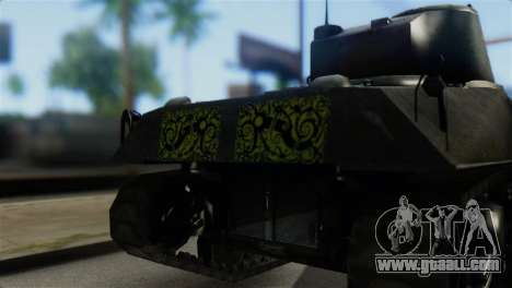 M4 Sherman Gawai Special 2 for GTA San Andreas back view