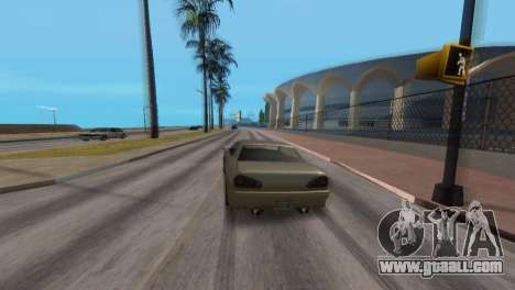 Improved physics of driving for GTA San Andreas fifth screenshot
