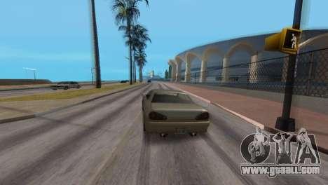 Improved physics of driving for GTA San Andreas fifth screenshot