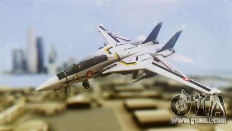 F-14D Tomcat Macross Yellow & Black for GTA San Andreas