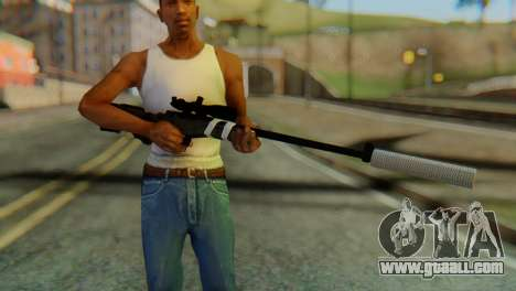 L96 Bandage Silencer for GTA San Andreas third screenshot