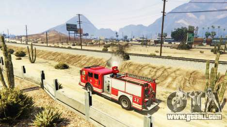 GTA 5 The mission of the fire v2.0 third screenshot