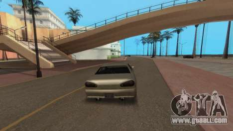 Improved physics of driving for GTA San Andreas forth screenshot