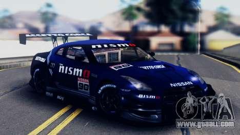 Nissan GT-R (R35) GT3 2012 PJ5 for GTA San Andreas bottom view