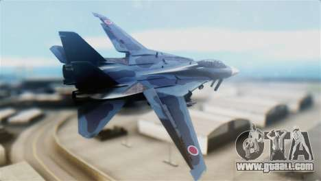 F-14J Super Tomcat JASDF for GTA San Andreas left view