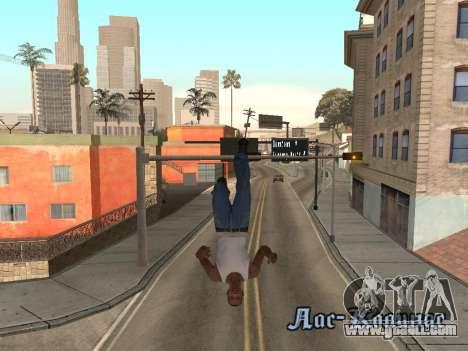 Back Flip for GTA San Andreas