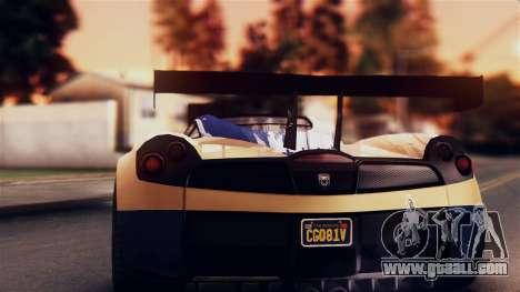 Pegassi Osiris from GTA 5 IVF for GTA San Andreas inner view