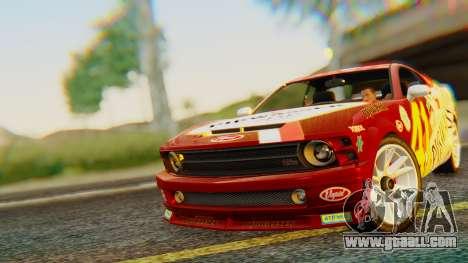 GTA 5 Vapid Dominator Pisswasser SA Lights for GTA San Andreas
