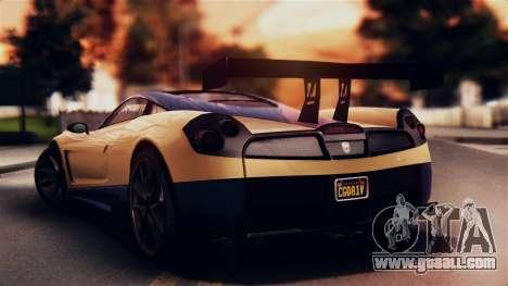 Pegassi Osiris from GTA 5 IVF for GTA San Andreas left view