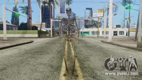 Skeleton Skin v2 for GTA San Andreas second screenshot