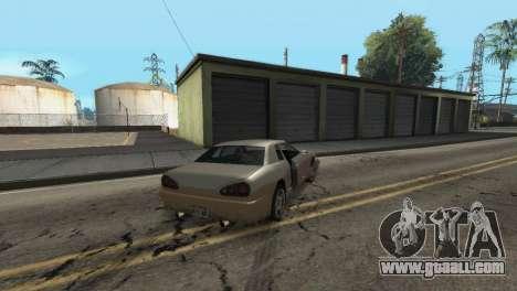 Improved physics of driving for GTA San Andreas sixth screenshot