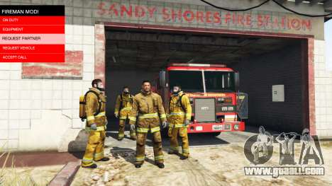 GTA 5 The mission of the fire v2.0 second screenshot