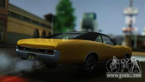 GTA 5 Imponte Dukes for GTA San Andreas back left view