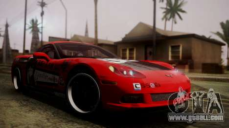 Chevrolet Corvette Z51 Another Itasha for GTA San Andreas