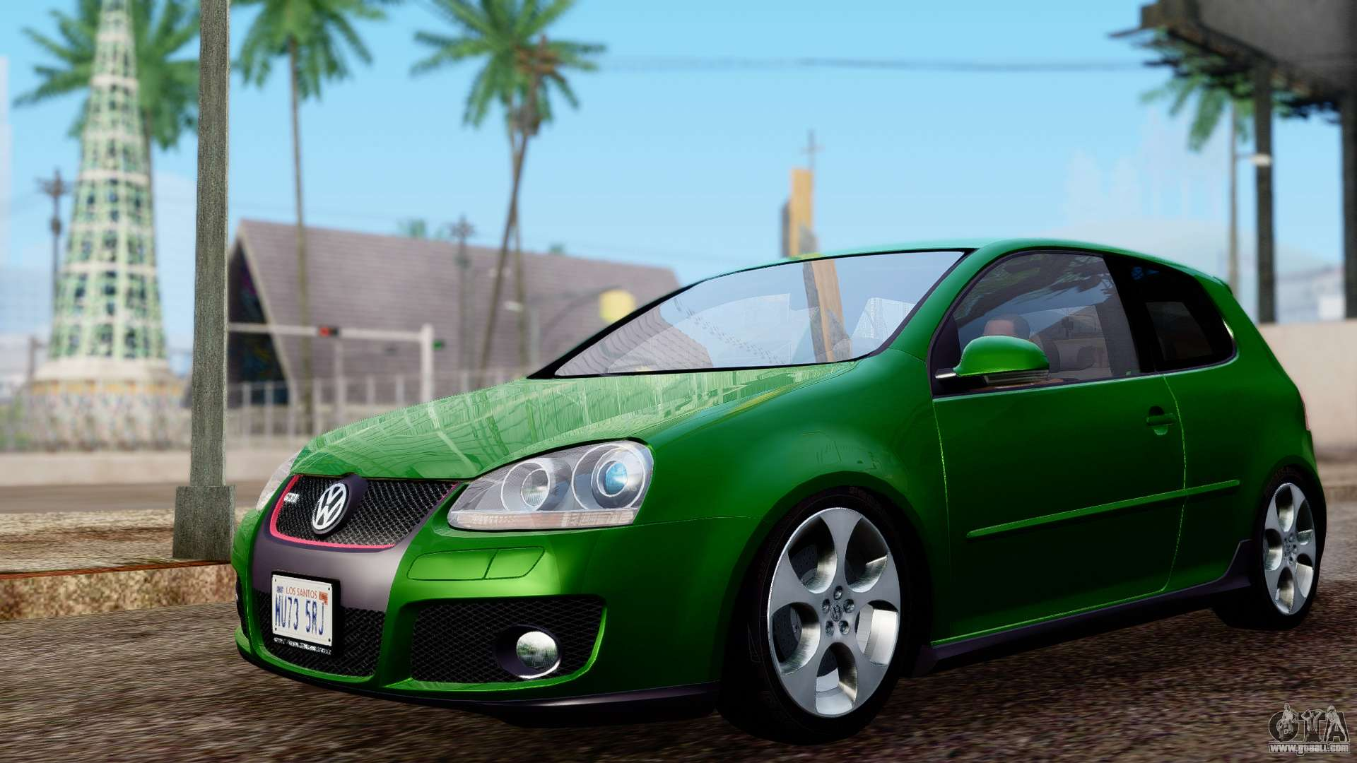 volkswagen golf mk5 gti tunable pj for gta san andreas. Black Bedroom Furniture Sets. Home Design Ideas