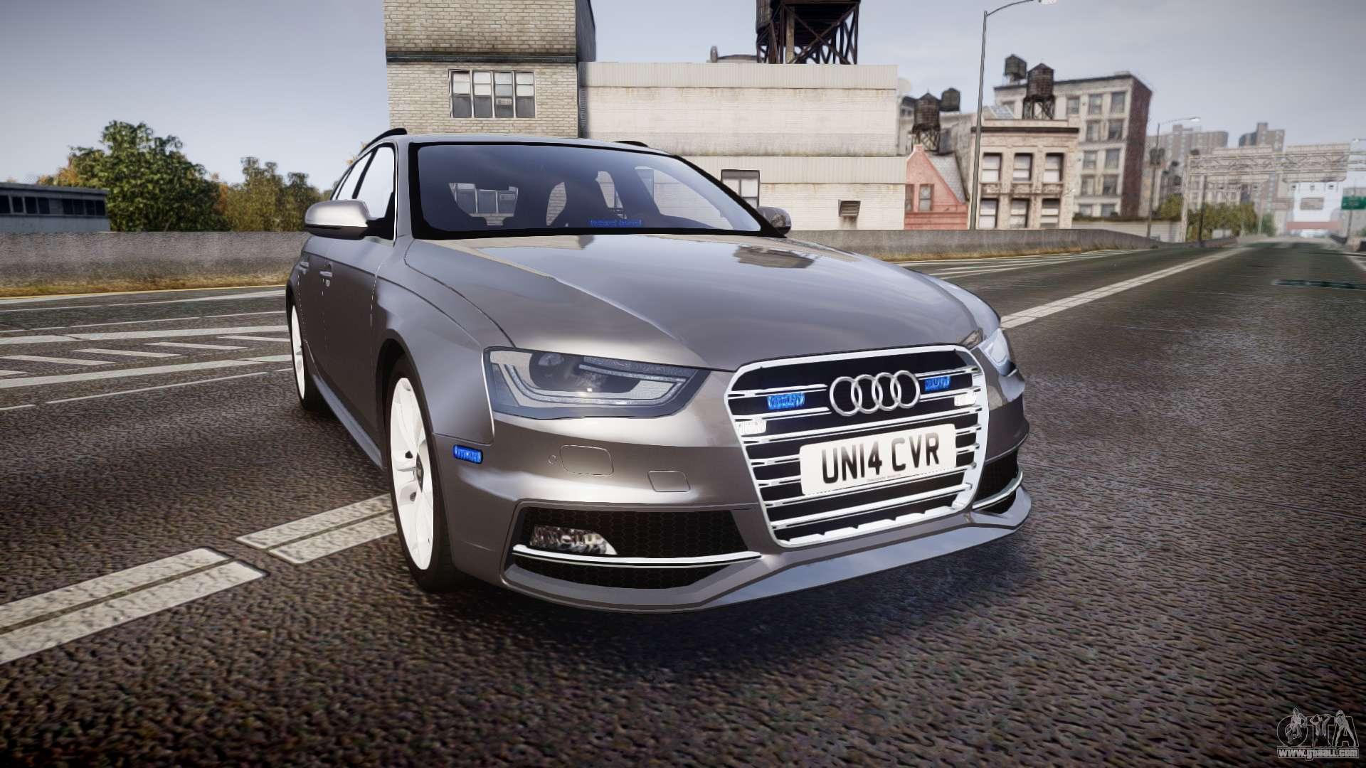Unmarked police car gta 5 - Audi S4 Avant Unmarked Police Els For Gta 4 Cars