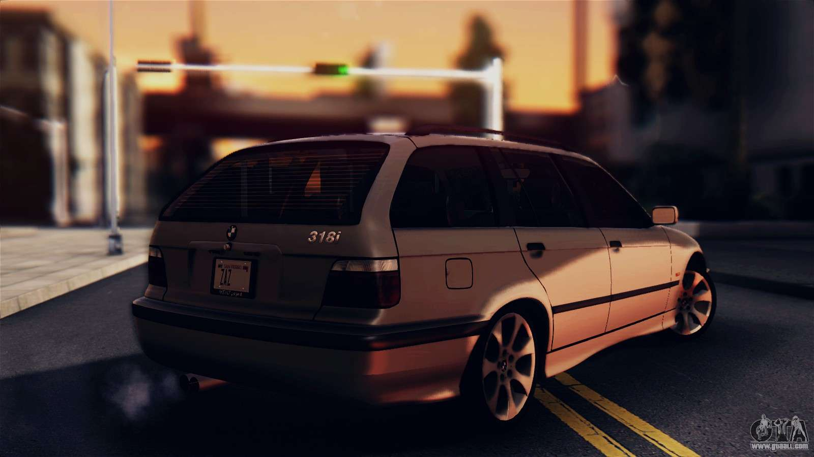 bmw 316i touring for gta san andreas. Black Bedroom Furniture Sets. Home Design Ideas