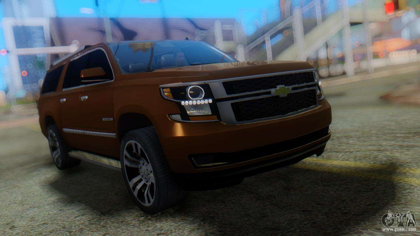 2015 Chevrolet Suburban Suv For Gta San Andreas