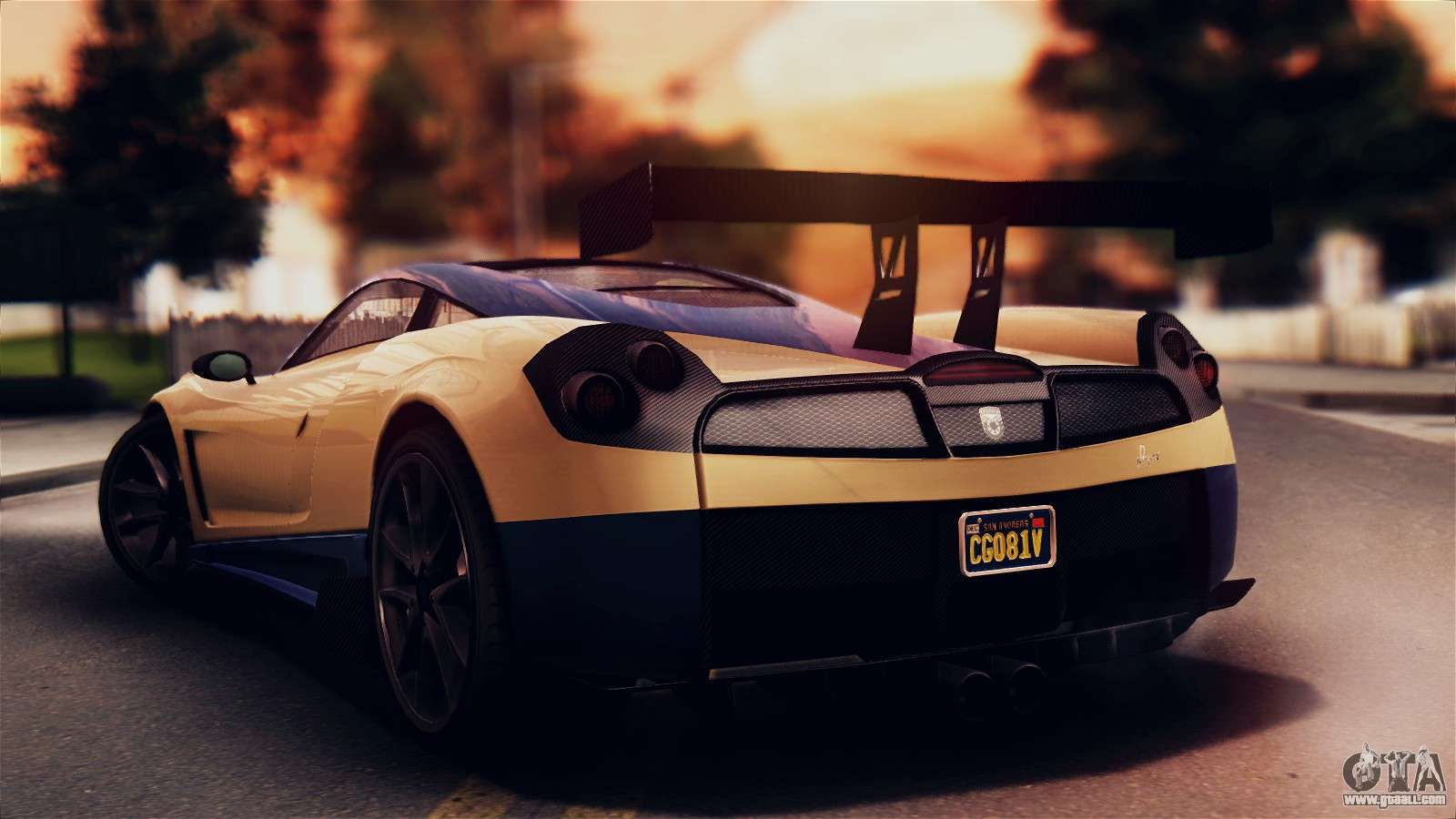 7 Passenger Vehicles >> Pegassi Osiris from GTA 5 IVF for GTA San Andreas