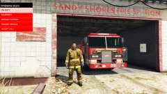 The mission of the fire v2.0 for GTA 5