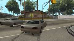 Improved physics of driving for GTA San Andreas