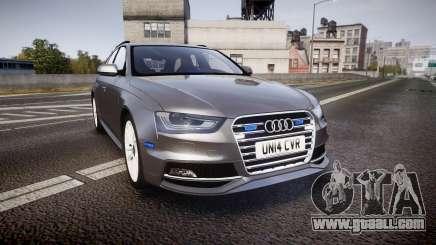 Audi S4 Avant Unmarked Police [ELS] for GTA 4