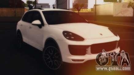 Porsche Cayenne Turbo S GTS 2015 for GTA San Andreas