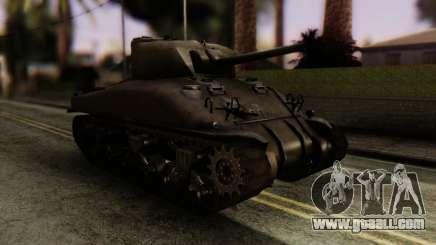 M4 Sherman v1.1 for GTA San Andreas