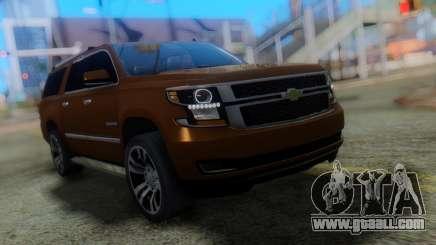 Chevrolet Suburban 2015 for GTA San Andreas