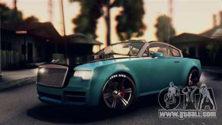 GTA 5 Enus Windsor for GTA San Andreas