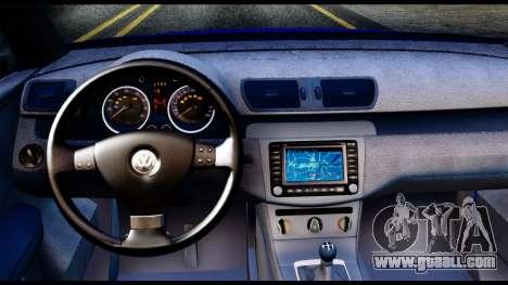 Volkswagen Passat B6 for GTA San Andreas back view