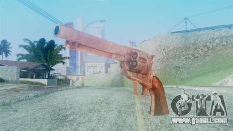 Red Dead Redemption Revolver Cattleman for GTA San Andreas