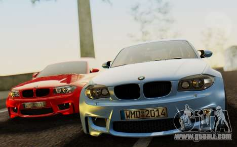 BMW 1M E82 for GTA San Andreas