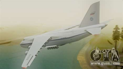 Antonov 124 for GTA San Andreas left view