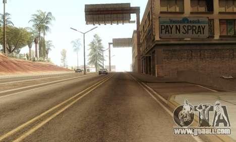 ENB & Colormod v 1.0 for GTA San Andreas third screenshot