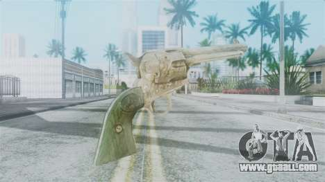Red Dead Redemption Revolver Sergio for GTA San Andreas second screenshot